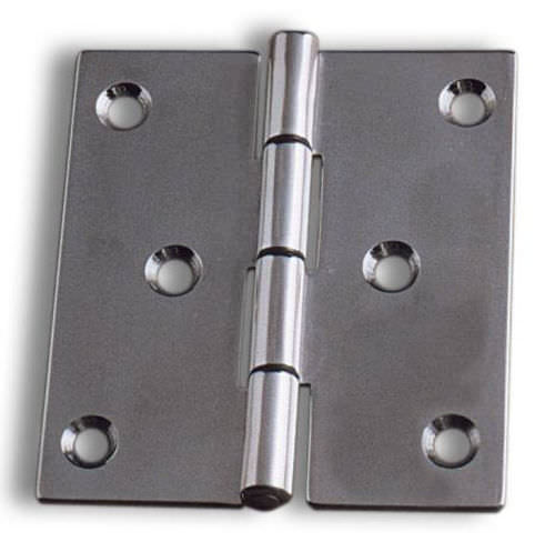 ship hinge / universal / for doors / stainless steel
