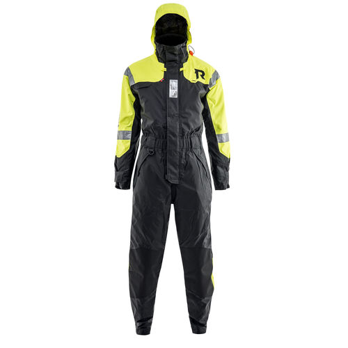 professional flotation suit / full / one-piece / with hood