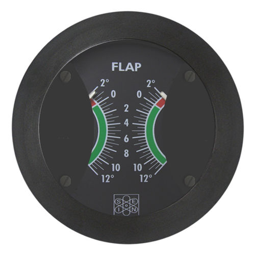 boat indicator / trim tab position / analog