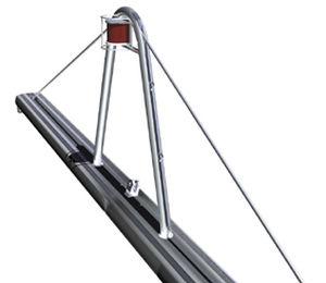 multihull mast / aluminum