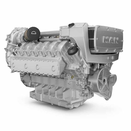diesel ship engine - MAN Truck & Bus AG - Engines & Components