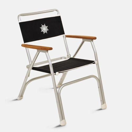 Standard boat chair / for yachts / folding / with armrests M100BL Forma Marine Ltd