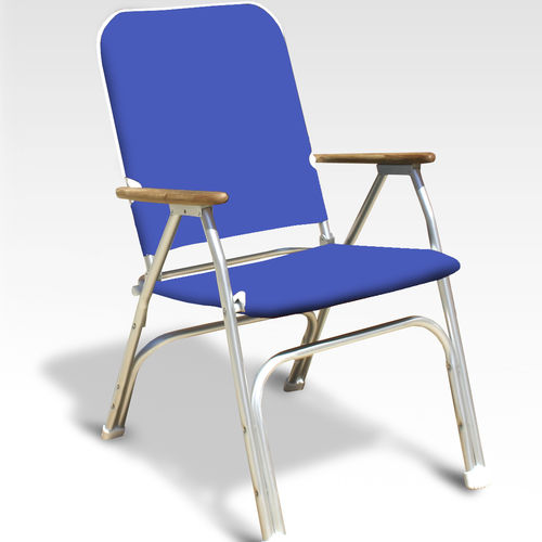 Standard boat chair / for yachts / folding / with armrests V100B Forma Marine Ltd