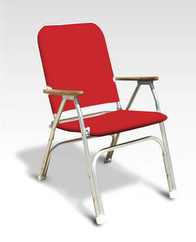 Standard boat chair / for yachts / folding / with armrests V100R Forma Marine Ltd