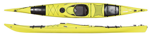 rigid kayak / touring / sea / solo