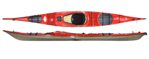 rigid kayak / sea / touring / recreational