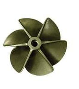 boat propeller / fixed-pitch / surface-drive / 6-blade