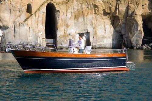 Inboard center console boat / gozzo / classic CORALLO 25 NEW CO.ME.NA