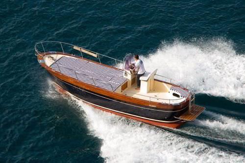 Center console monohull boat / gozzo / classic CORALLO 25 NEW CO.ME.NA