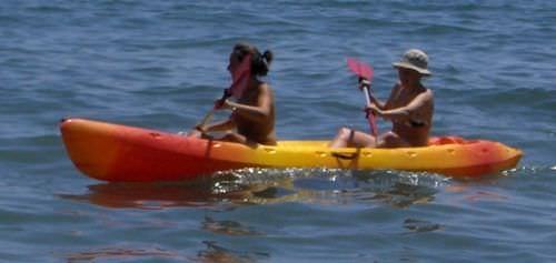 sit-on-top kayak / rigid / touring / 2-person