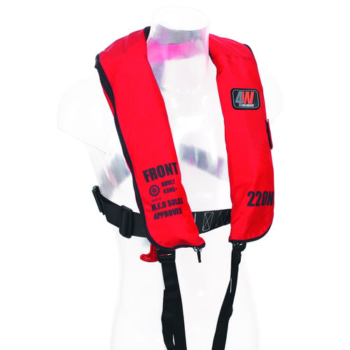 Inflatable life jacket / commercial SOLAS 200N Forwater