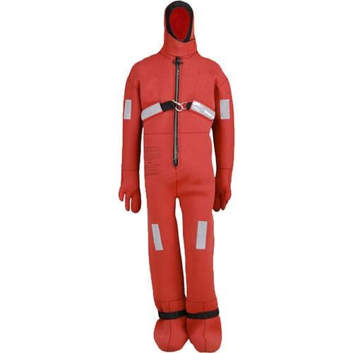 survival flotation suit / full / with hood / unisex