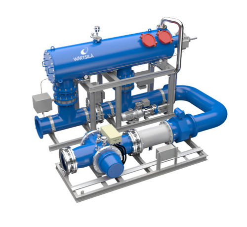 ballast water treatment / for ships / with filter
