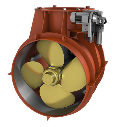 bow thruster / for ships / hydraulic / tunnel type