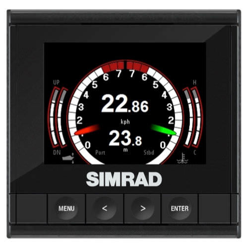 Boat display / multi-function / digital / LCD IS35 Simrad Yachting