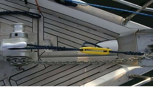 anchor line mooring snubber / for boats