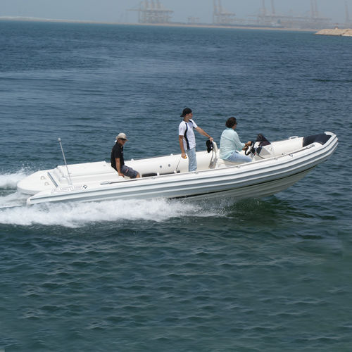 work boat / inboard / rigid hull inflatable boat
