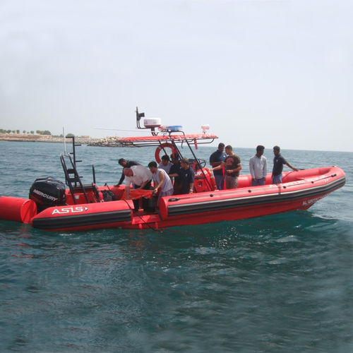 rigid hull inflatable boat SAR boat - ASIS BOATS