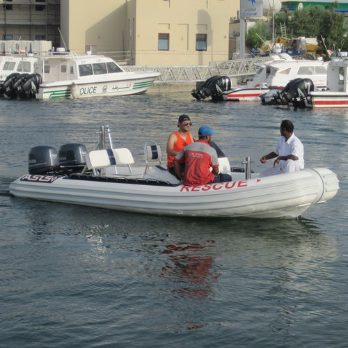 Inboard search and rescue boat / outboard / rigid hull inflatable boat Search and Rescue Boat 5.5 ASIS BOATS