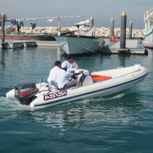 service boat / outboard / rigid hull inflatable boat