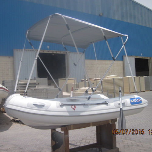 outboard utility boat / inflatable boat / foldable inflatable boat
