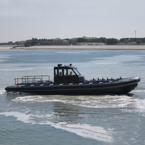 Rigid hull inflatable boat defense boat Riverine RHIB 12.5 ASIS BOATS