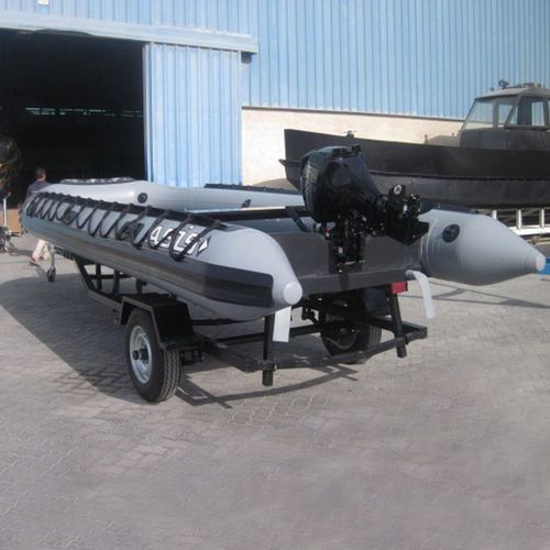 Outboard military boat / inflatable boat Military Inflatable Boat 6.0 ASIS BOATS