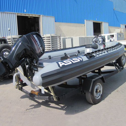 Outboard military boat / inflatable boat Military Inflatable Boat 5.1 ASIS BOATS