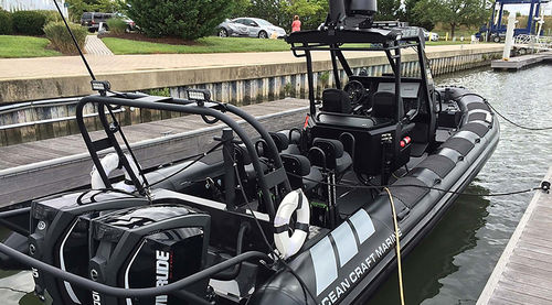 RHIB military boat  Special Ops RHIB 12 ASIS BOATS