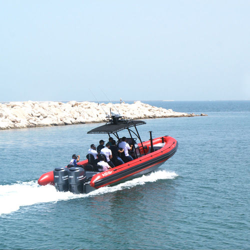 Outboard patrol boat / rigid hull inflatable boat Law Enforcement RHIB 9.5 ASIS BOATS
