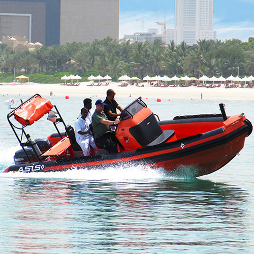 Rigid hull inflatable boat SAR boat Solas Rescue Boat 6.5 ASIS BOATS