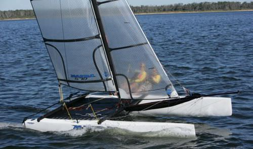 recreational sport catamaran / coastal racing / double-handed / double-trapeze