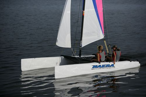 instructional sport catamaran / recreational / double-handed / double-trapeze