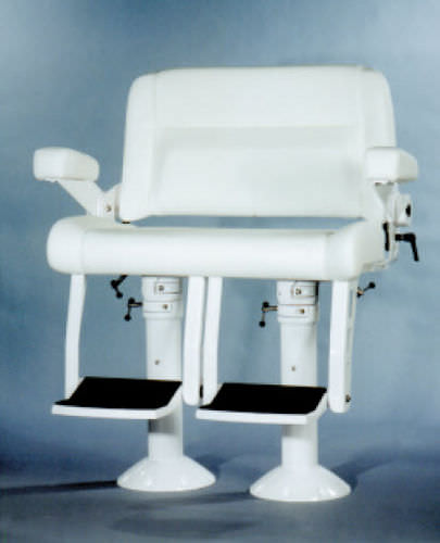 helm seat / for boats / fixed / 2-person