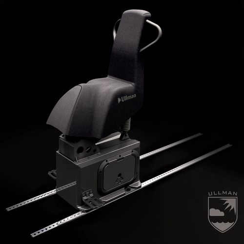 helm seat / for professional boats / for offshore power boats / for military vessels