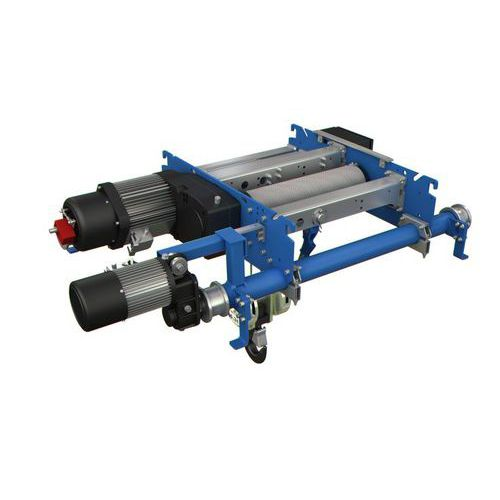 electric hoist / compact / double-rail