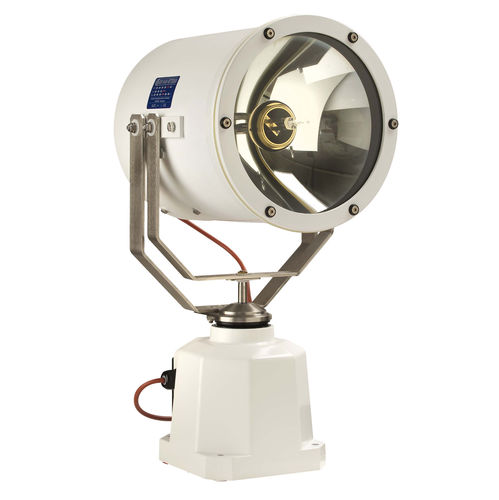 search floodlight / for ships / halogen / remote-controlled