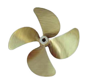 Ship propeller / skew / shaft-drive / 4-blade S TYPE Hélices y Suministros Navales