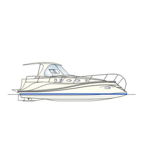 inboard express cruiser / diesel / open / cruising