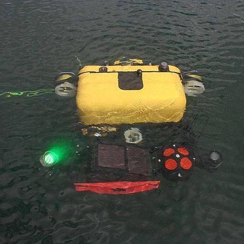 hull inspection underwater ROV