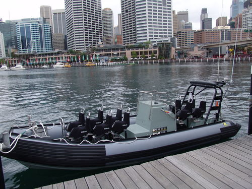 Inboard military boat / outboard / rigid hull inflatable boat ZH-733 CDO Zodiac Milpro International