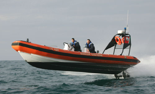 Inboard search and rescue boat / rigid hull inflatable boat ZH-933 SAR Zodiac Milpro International