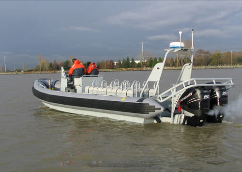 Outboard military boat / rigid hull inflatable boat ZH-933 CDO Zodiac Milpro International