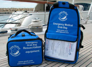 Ship first aid kit / coastal navigation CLASS C Ocean Medical International