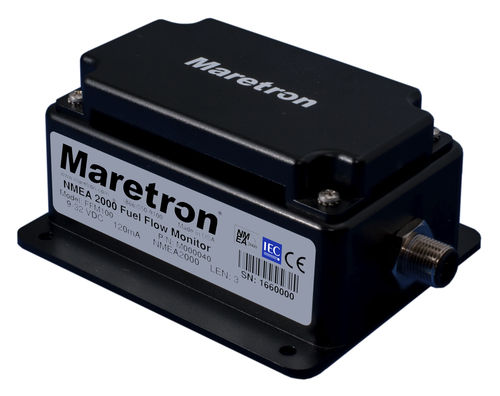 NMEA flow meter / for boats / fuel