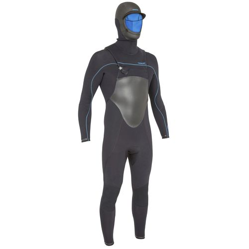surf wetsuit / with hood / men's