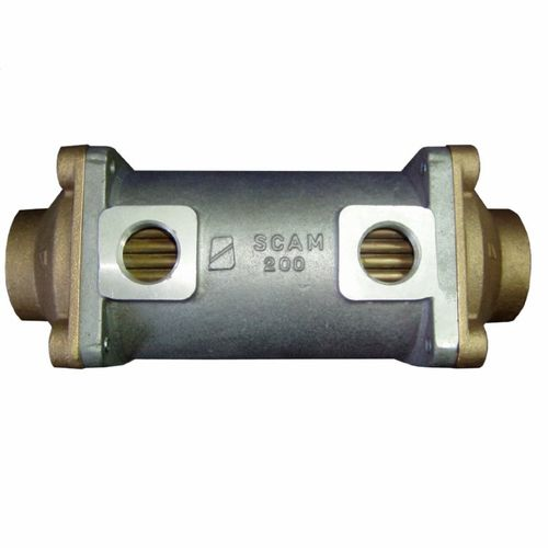 shell and tube heat exchanger / for boats