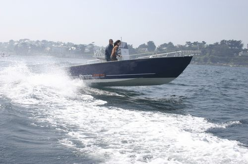 Outboard utility boat DERVINIS 620 PLONGEE BORD A BORD
