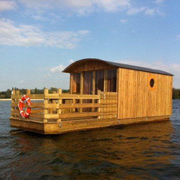 floating house platform / multifunction / floating