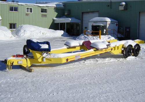 road trailer / for boats / hydraulic
